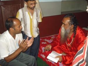সীতারামজির সাথে দেবর্ষি হোটেলে আমরা