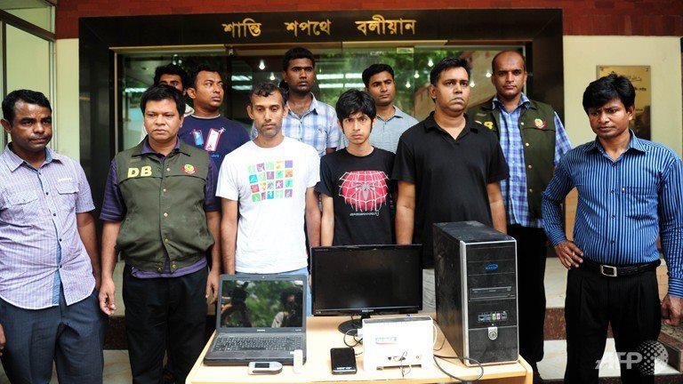 Blogger arrested
