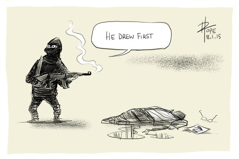 he-drew-first-by-david-pope