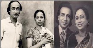 স্বামী বিখ্যাত নৃত্যশিল্পী গহর জামিলের সাথে রওশন জামিল
