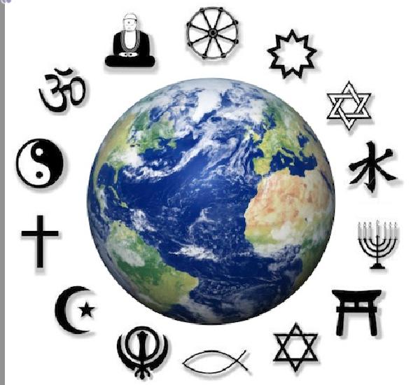 বিশ্বের কয়েকটি ধর্ম ছবিঃ ইন্টারনেট থেকে নেওয়া