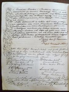 আলফ্রেড নোবেলের উইলের চতুর্থ ও শেষ পৃষ্ঠা