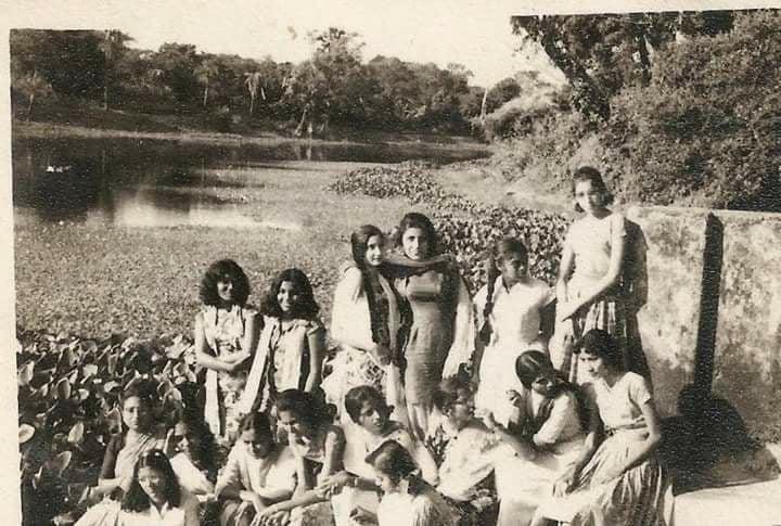 ভিকারুন্নিসা স্কুলের, ১৯৬২ সালের ছবি